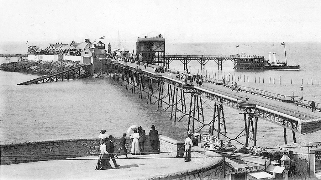 Weston-Super-Mare Birnbeck Pier