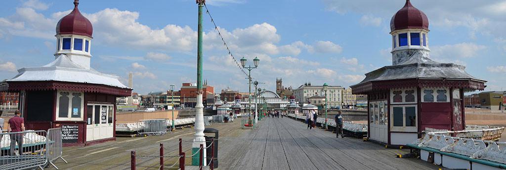 Blackpool North Pier by Anya Chapman