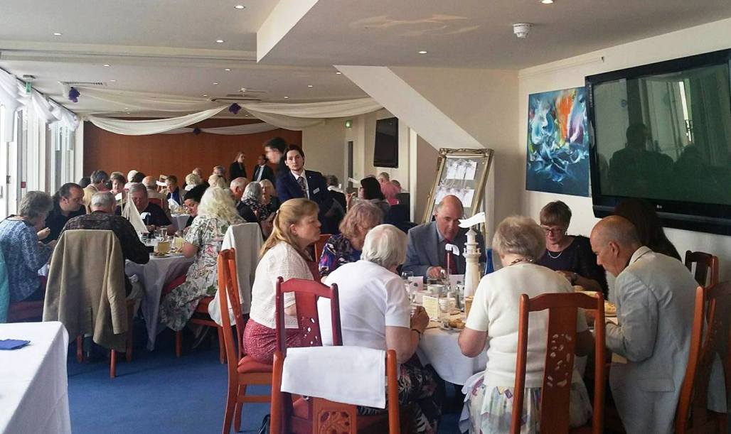 The AGM Gala Dinner held at the Azur in St Leonards was followed by a highly-competitive pier quiz!